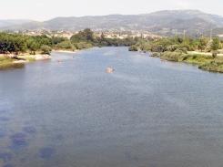 Rio Lima em Ponte de Lima